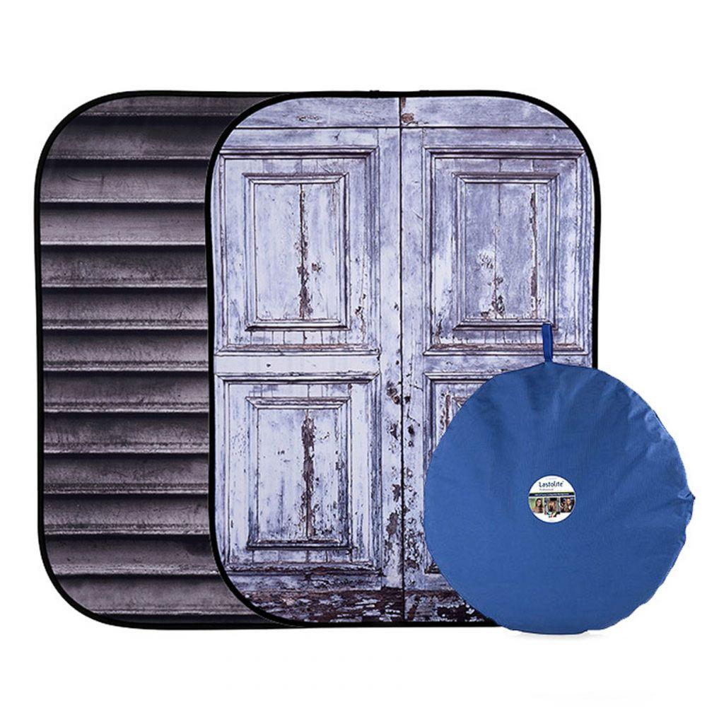 Lastolite összecsukható háttér 1.5 x 2.1m - Shutter/Distressed Door