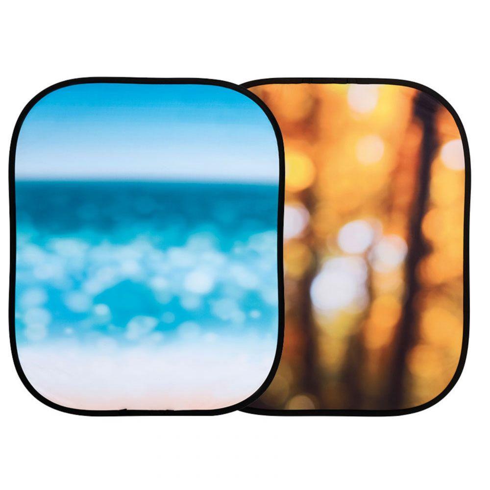 Lastolite összecsukható háttér 1.2 x 1.5m - Autumn Foliage/Seascape