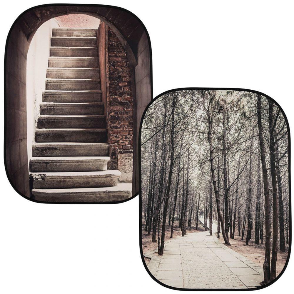 Lastolite összecsukható háttér 1.5 x 2.1m - Steps/Trees
