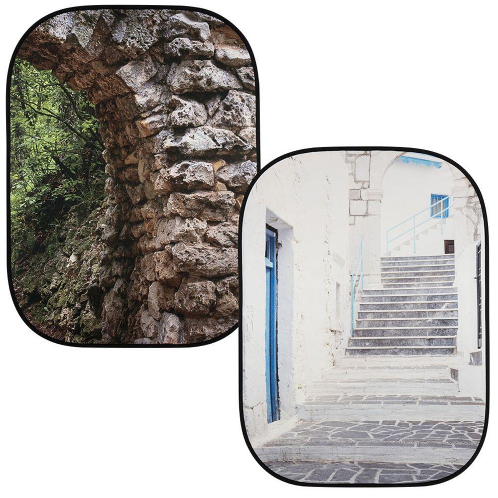Lastolite összecsukható háttér 1.5 x 2.1m - Arch/Grecian