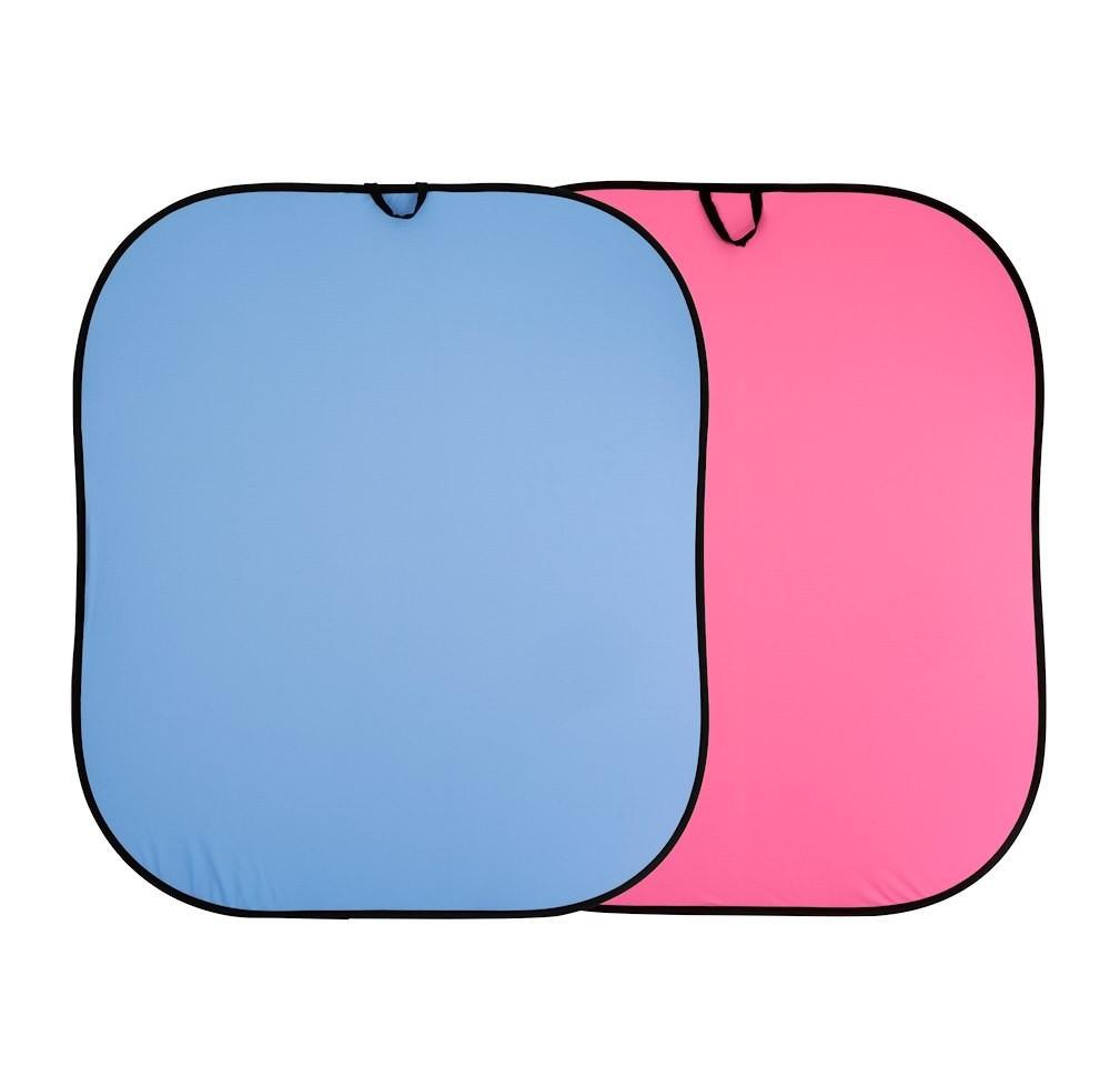 Lastolite összecsukható háttér 1.8 x 2.15m - kék/rózsaszín