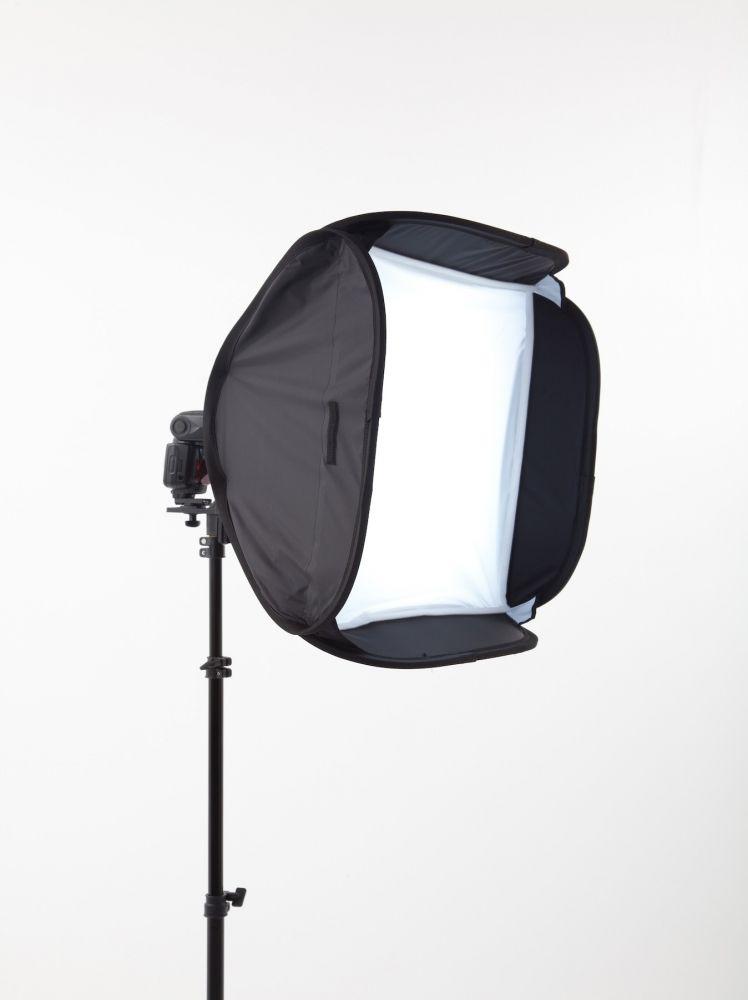 Joe Mcnally White Ezybox vakura szerelhető diffúzor 54x54cm