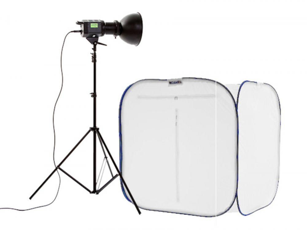 Lastolite Cubelite 90cm + Fluorescent 85watt kit