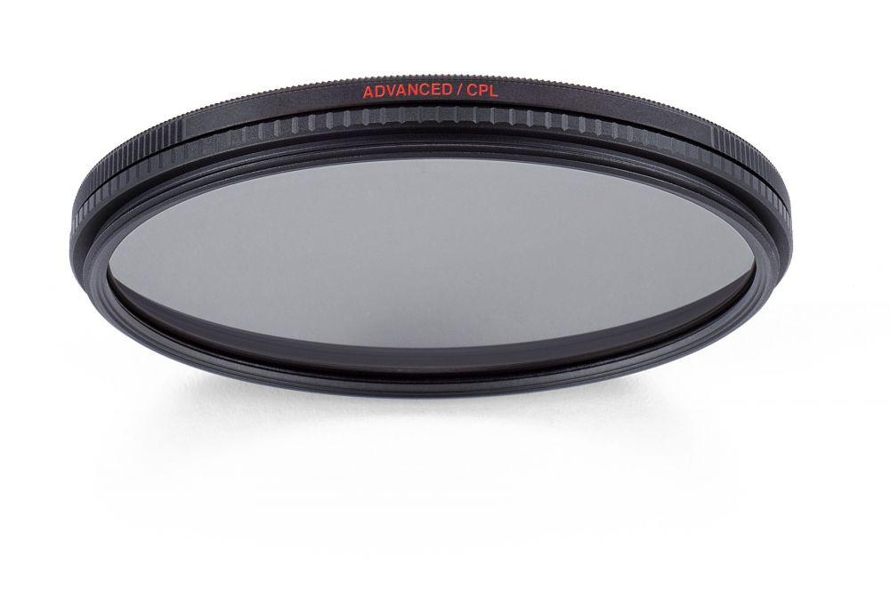 Manfrotto Advanced cirkuláris polárszűrő - 52mm