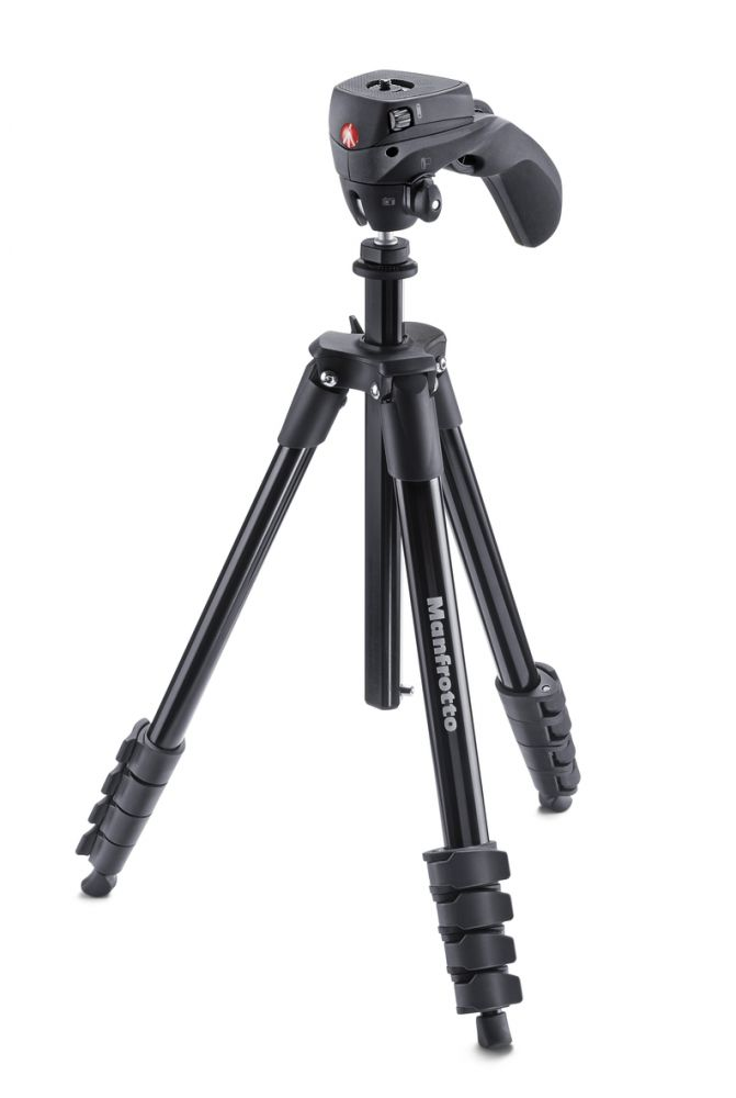 Manfrotto Compact Action állvány (fekete)