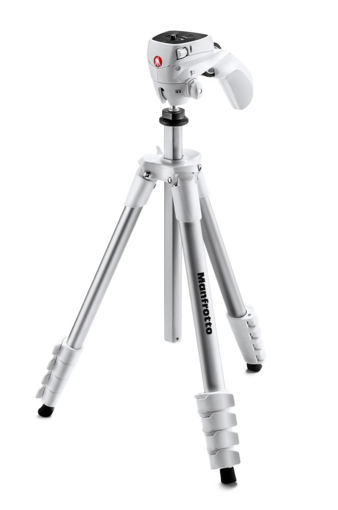 Manfrotto Compact Action állvány (fehér)