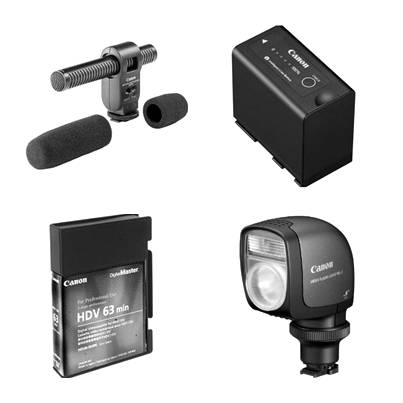 Videokamera tartozékok