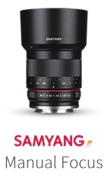 Samyang FOTÓ Objektív Manuális