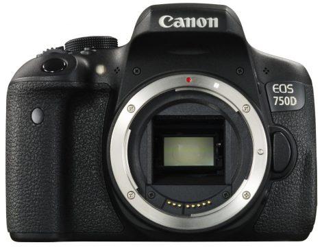 Canon EOS 750D váz 1+2 év garanciával**