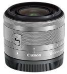 Canon EF-M 15-45mm / 3.5-6.3 IS STM - ezüst színű