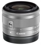 Canon EF-M 15-45mm /3.5-6.3 IS STM - ezüst színű