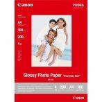 "Canon Glossy Photo Paper GP-501 ""Everyday Use"", A4 méretű - 100 ív"