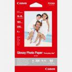 "Canon Glossy Photo Paper GP-501 ""Everyday Use"", 10x15cm méretű - 100 ív"