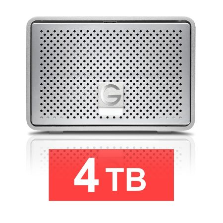 G-technology G-RAID Removable Drive - 4TB