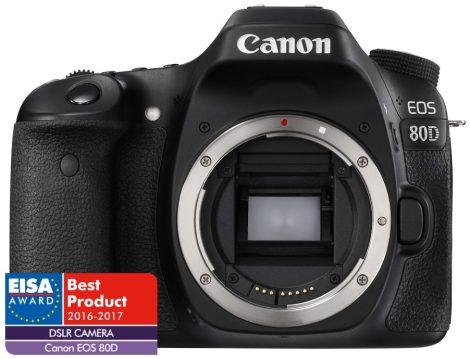 Canon EOS 80D váz 1+2 év garanciával**