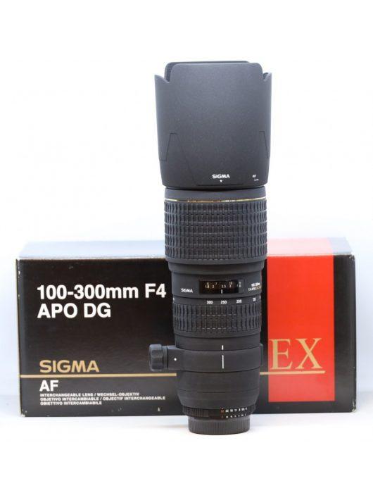Sigma 100-300mm / 4 EX DG HSM  (for Nikon) (HASZNÁLT)