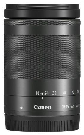 Canon EF-M 18-150mm / 3.5-6.3 IS STM - fekete színű (1375C005)