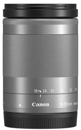 Canon EF-M 18-150mm / 3.5-6.3 IS STM - ezüst színű