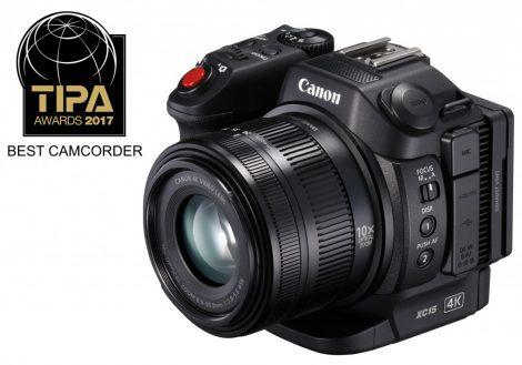 Canon XC15 kompakt 4K videokamera