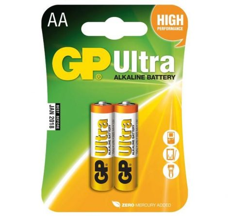 GP LR6 (AA) ceruza elem (2db-os szett)