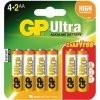 GP Ultra AAA elem - 6 darab