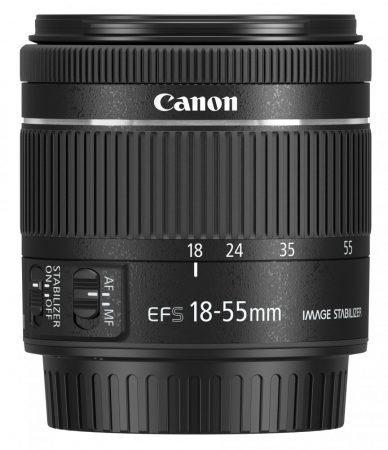 Canon EF-S 18-55mm /4-5.6 IS STM