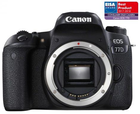 Canon EOS 77D váz 1+2 év garanciával**