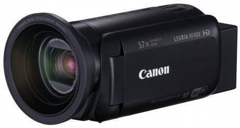 Canon LEGRIA HF R88 + WA-H43 előtétlencse (Wi-Fi + NFC)