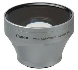 Canon WD-H43 nagy látószögű konverter