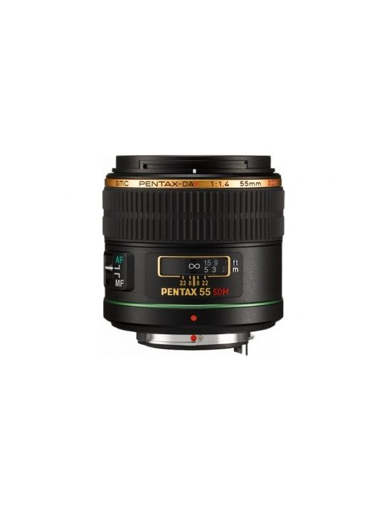 Pentax SMC DA* 55mm / 1.4 SDM