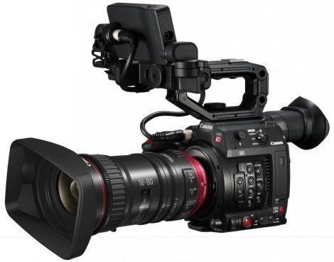 Canon EOS C200 videokamera + CN-E 18-80mm / T4.4 L IS KAS S