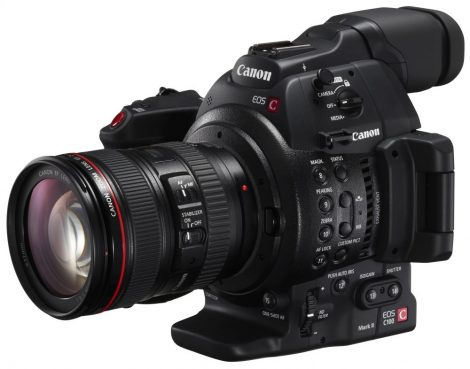 Canon EOS C100 mark II + EF 24-105mm /4 L IS USM mark II kit (2245C003)