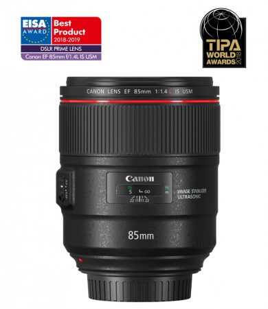 Canon EF 85mm / 1.4 L IS USM