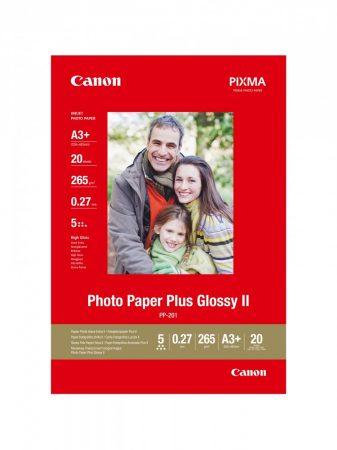 Canon Photo Paper Plus Glossy II PP-201, A3+ méret - 20 ív