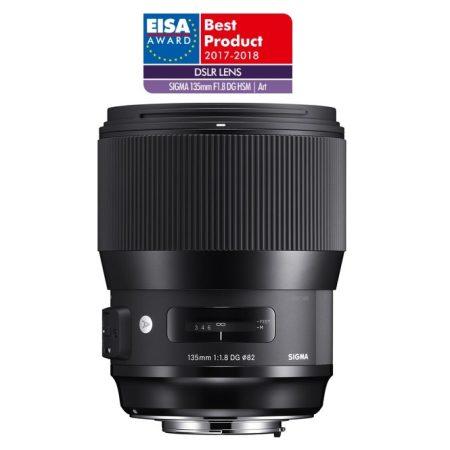 Sigma 135mm / 1.8 DG HSM   Art - Canon EOS bajonettes - Használt