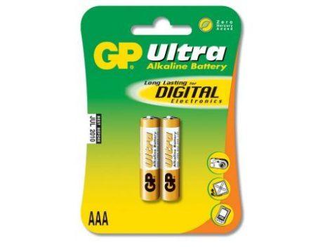 """GP LR03 (AAA) """"vékony"""" ceruza elem (2db-os szett)"""