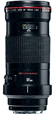 Canon EF 180mm / 3.5 L USM Macro