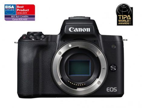Canon EOS M50 váz - fekete színű