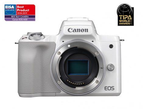 Canon EOS M50 váz - fehér színű