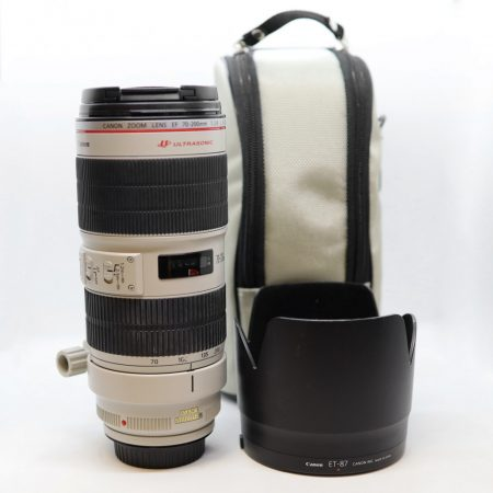 Canon EF 70-200mm / 2.8 L IS USM mark II - HASZNÁLT