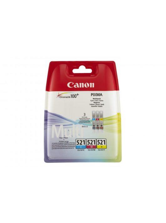 Canon CLI-521 3-in-1 tintapatron multipack