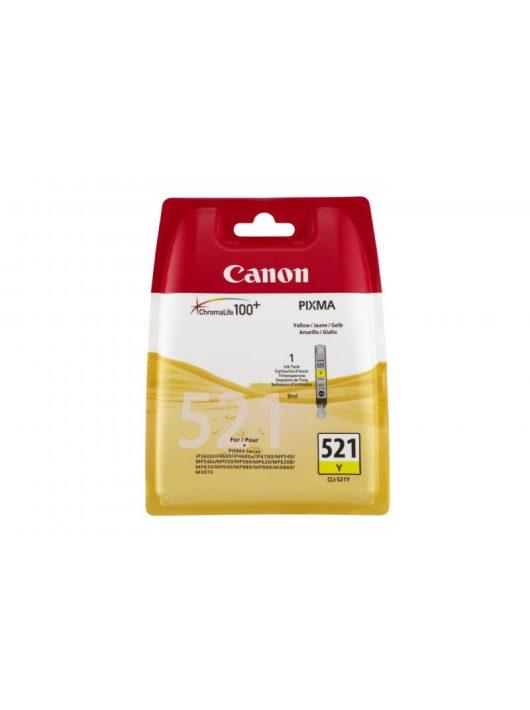 Canon CLI-521Y tintapatron
