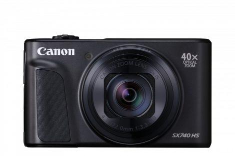 Canon PowerShot SX740HS - fekete színű
