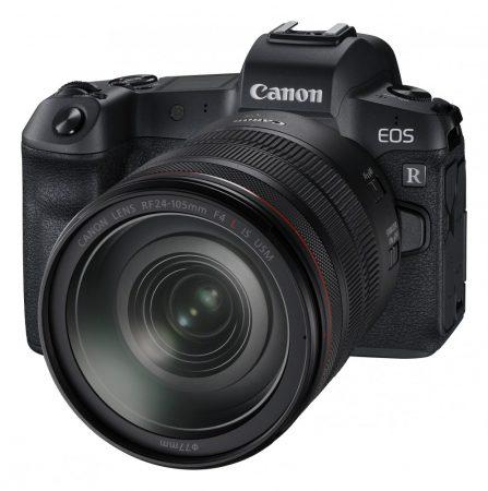 Canon EOS R váz 1+2 év garanciával** + RF 24-105mm / 4 L IS nano USM + EF-EOS R adapter + csereakció*