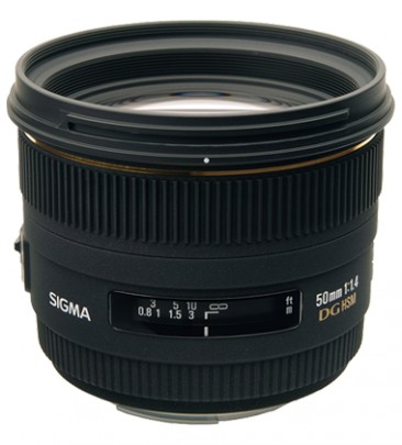 Sigma 50mm / 1.4 EX DG HSM (for Canon)
