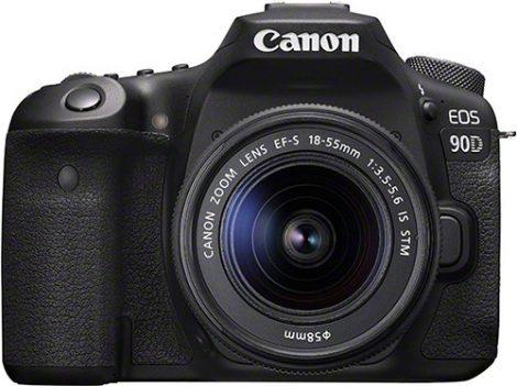Canon EOS 90D váz + EF-S 18-55mm / 4-5.6 IS STM (-35.000 Ft csereakcióban!)