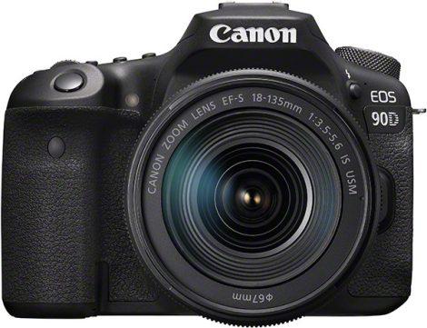 Canon EOS 90D váz 1+2 év garanciával** + EF-S 18-135/3.5-5.6 IS nano USM
