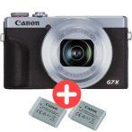 Canon PowerShot G7x mark III Power Kit - ezüst színű (3638C014)