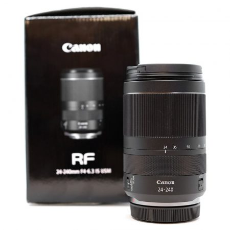 Canon RF 24-240mm / 4-6.3 IS USM - HASZNÁLT