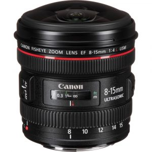 Canon EF 8-15mm / 4 L Fisheye USM